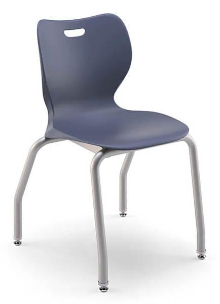 Classroom chair navy